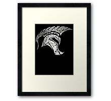 The Warrior Spirit Framed Print
