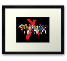 Xeno Party Framed Print