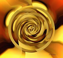 Golden Whorl by rd Erickson