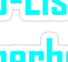 B-List Superhero Sticker