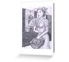Belle  Greeting Card
