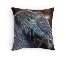 Halloween Horse Throw Pillow