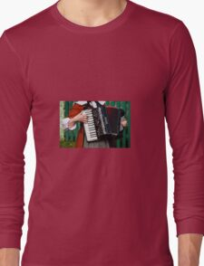 Accordion Sounds Long Sleeve T-Shirt