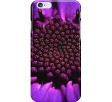 Purple summer flower macro iPhone Case/Skin