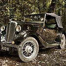 Morris Eight Series 1 by Squealia