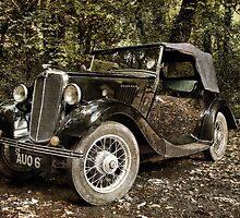 Morris Eight Series 1 by Squealia