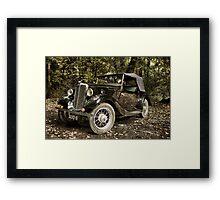 Morris Eight Series 1 Framed Print
