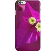 Foxy flower. iPhone Case/Skin