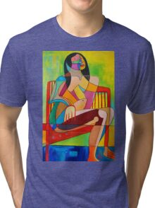 Sitting In The Sun Tri-blend T-Shirt