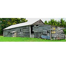 The Old Bacon Shed Photographic Print