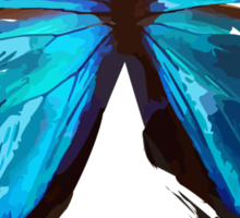 Imperfect Butterfly Donate to EB Sticker