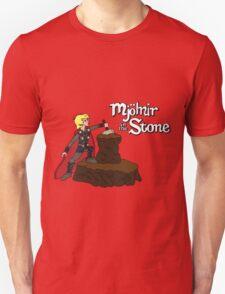 Mjolnir in the Stone Unisex T-Shirt