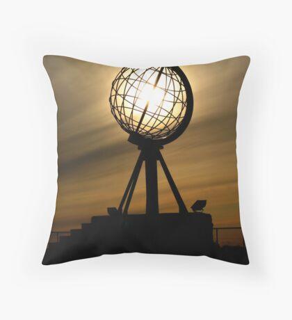 Nordkapp, Norway Throw Pillow