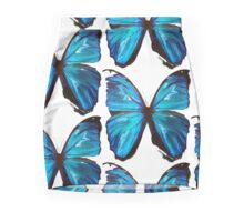 Beautiful Blue Butterfly Proceeds donated to DebRa.org Pencil Skirt