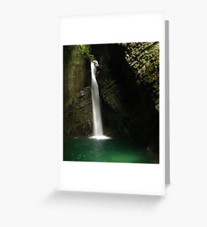 Kozjak Slap, Slovenia Greeting Card