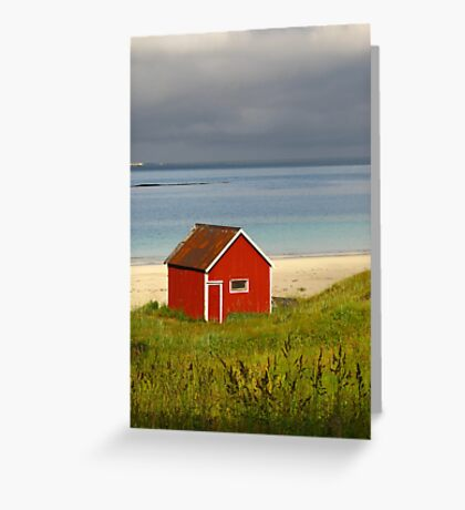 Lofoten Islands, Norway Greeting Card