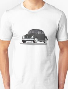 VW Beetle Bug Kaefer Black Unisex T-Shirt