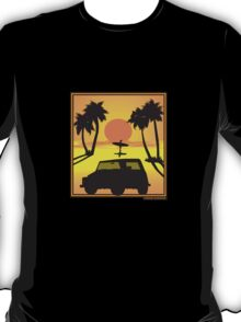 VW Volkswagen Thing Convertible Sunset T-Shirt