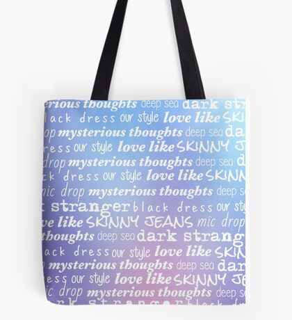 Teen Aesthetic, Cool Gradient Tote Bag