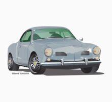 VW Volkswagen Karmann Ghia Silver by Frank Schuster