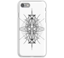 Abstract Graphic Starburst iPhone Case/Skin