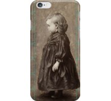 The girl's portrait iPhone Case/Skin