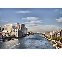 Looking North Up The East River Photographic Print