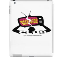 Wrestling Watching Club Logo iPad Case/Skin