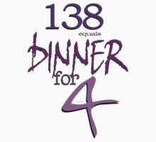 Dinner For Four © T-DZYNE by Vicki Ferrari © T-DZYNE