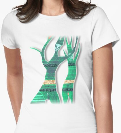 tree dance Womens Fitted T-Shirt