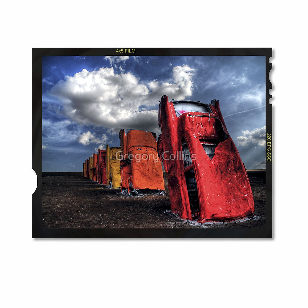Cadillac Ranch by Gregory Collins