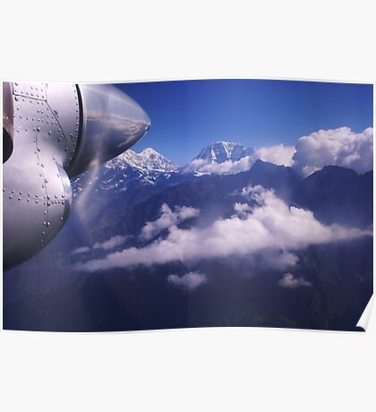FLYING INTO LUKLA FROM KATHMANDU Poster
