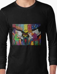 Dual Pianos Long Sleeve T-Shirt