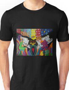 Dual Pianos Unisex T-Shirt