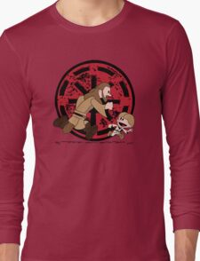 Lets Be Jedi (Qui Gon & Anakin EP1) Long Sleeve T-Shirt
