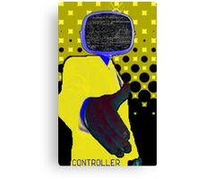 Yellow Controller Canvas Print