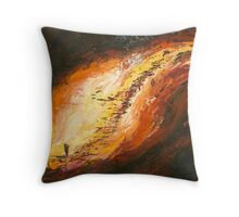 "The Land No 2 ""Looking for Rain"" Throw Pillow"