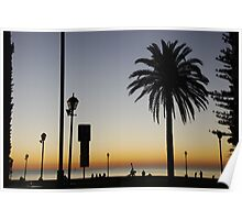 South Australian Sunset Poster