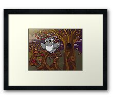 Autumn Owl Framed Print