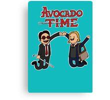 Avocado Time! Canvas Print