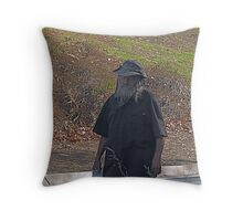 Sleep walker Throw Pillow