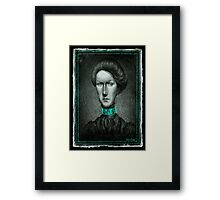 Time traveller II Framed Print