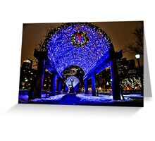 Very Merry Christmas from Boston, MA Greeting Card