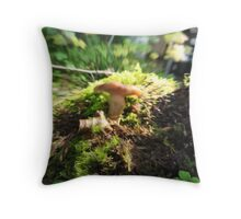 Psycho Shroom Throw Pillow