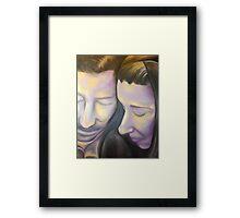 Matt and Heather Framed Print