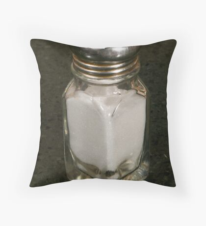 Resturant Salt shaker Throw Pillow