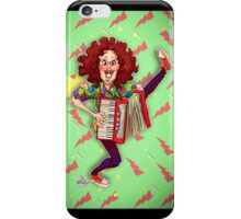 Alfred (Weird Al) Yankovic and Harvey the Wonder Hamster iPhone Case/Skin