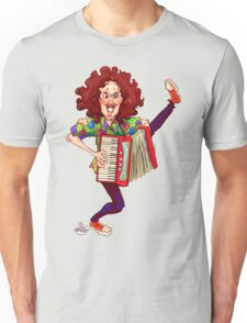 Alfred (Weird Al) Yankovic and Harvey the Wonder Hamster Unisex T-Shirt