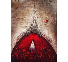 Love in Paris Photographic Print