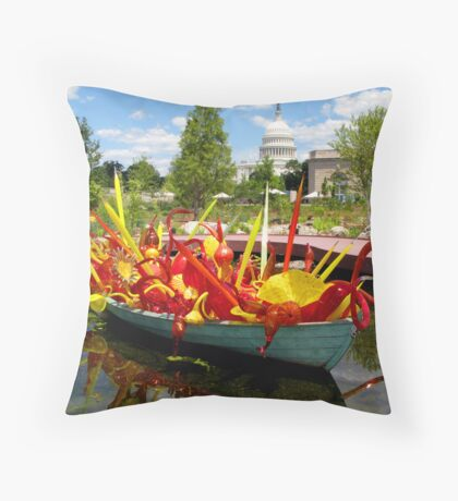 Botanical Garden - Washington DC Throw Pillow